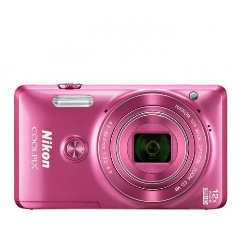 Nikon COOLPIX S6900 Compact Digital Camera - Pink