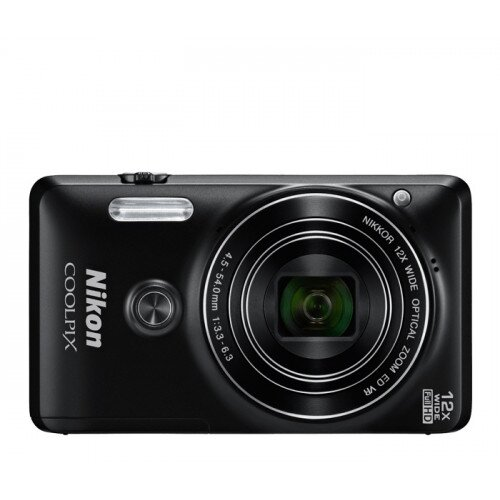 Nikon COOLPIX S6900 Compact Digital Camera - Black