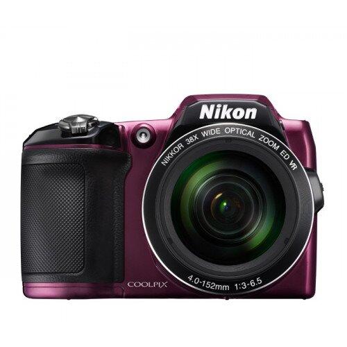 Nikon COOLPIX L840 Compact Digital Camera - Plum