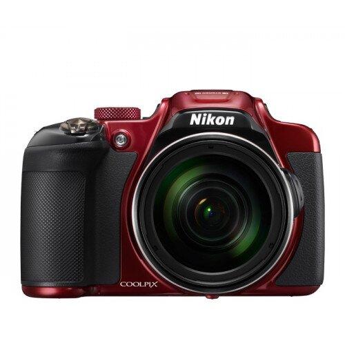Nikon COOLPIX P610 Compact Digital Camera - Red