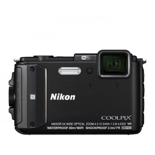 Nikon COOLPIX AW130 Compact Digital Camera - Black