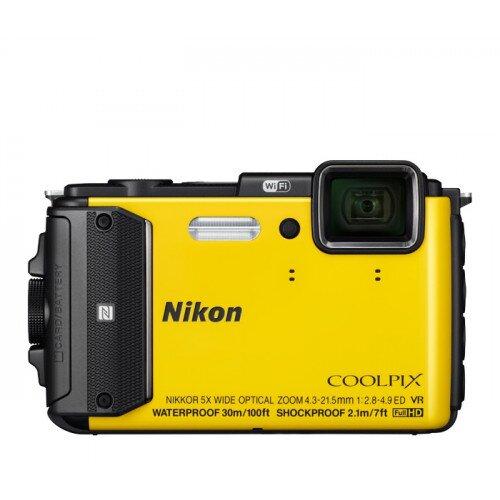 Nikon COOLPIX AW130 Compact Digital Camera - Yellow