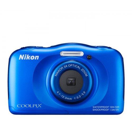 Nikon COOLPIX S33 Compact Digital Camera - Blue