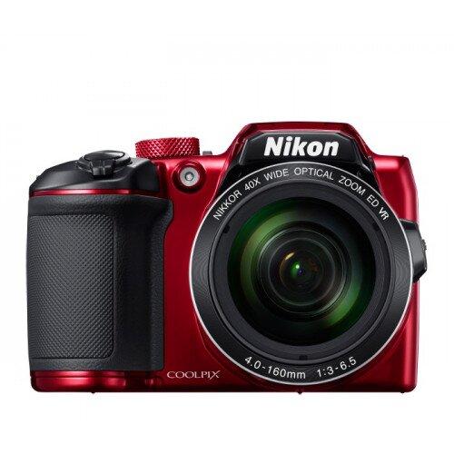 Nikon COOLPIX B500 Compact Digital Camera - Red
