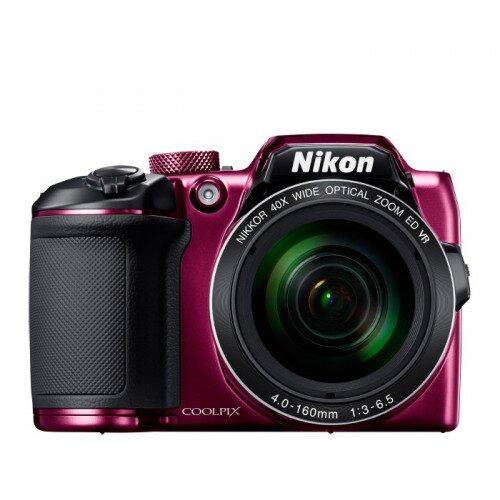 Nikon COOLPIX B500 Compact Digital Camera - Plum