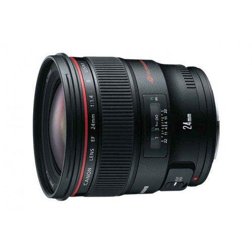 Canon EF 24mm Wide-Angle Lens - f/1.4L II USM