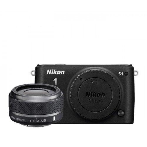 Nikon 1 S1 Camera - Black - One-Lens Kit