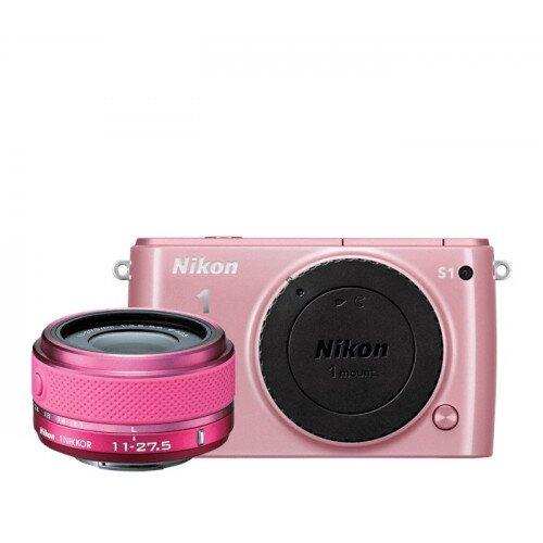 Nikon 1 S1 Camera - Pink - One-Lens Kit