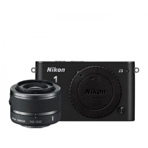 Nikon 1 J3 Camera - Black - One-Lens Kit