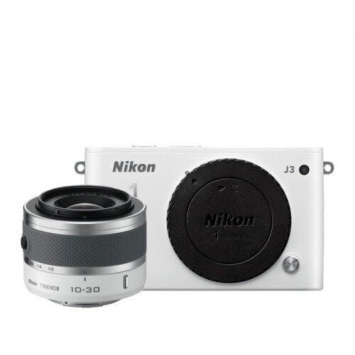 Nikon 1 J3 Camera - White - One-Lens Kit