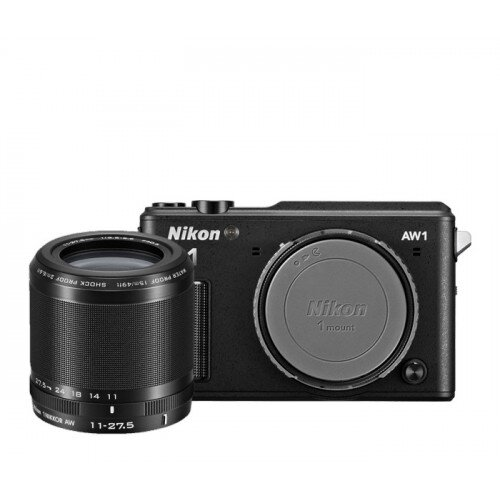 Nikon 1 AW1 Camera - Black - One-Lens-Kit