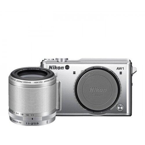 Nikon 1 AW1 Camera - Silver - One-Lens-Kit