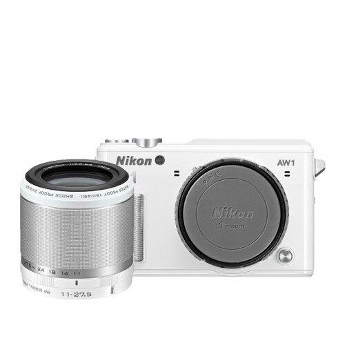 Nikon 1 AW1 Camera - White - One-Lens-Kit
