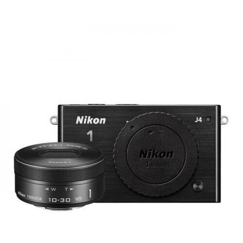 Nikon 1 J4 Camera - Black - One-Lens Kit