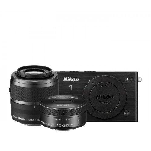 Nikon 1 J4 Camera - Black - Two Lens Zoom