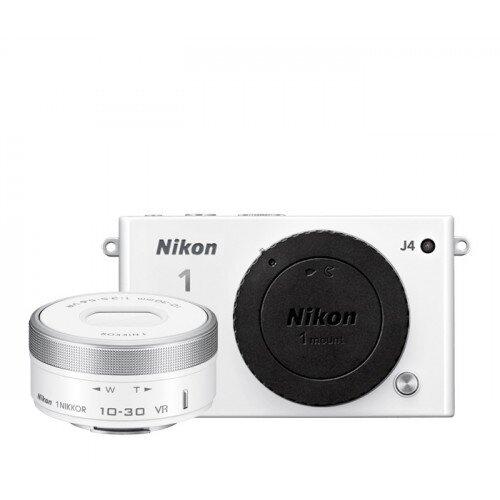 Nikon 1 J4 Camera - White - One-Lens Kit