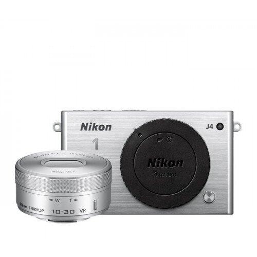 Nikon 1 J4 Camera - Silver - One-Lens Kit