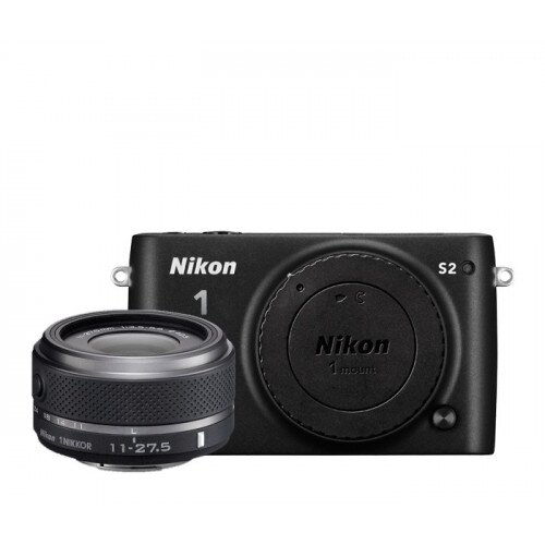 Nikon 1 S2 Camera - Black - One-Lens Kit