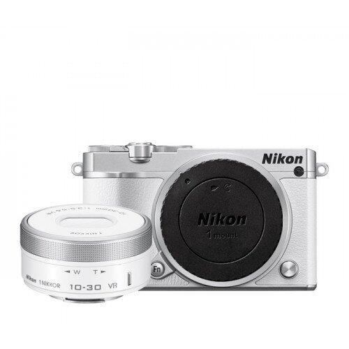 Nikon 1 J5 Camera - White - One-Lens Kit