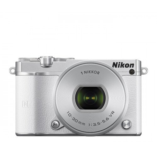 Nikon 1 J5 Camera - White - All-In-One Lens Kit