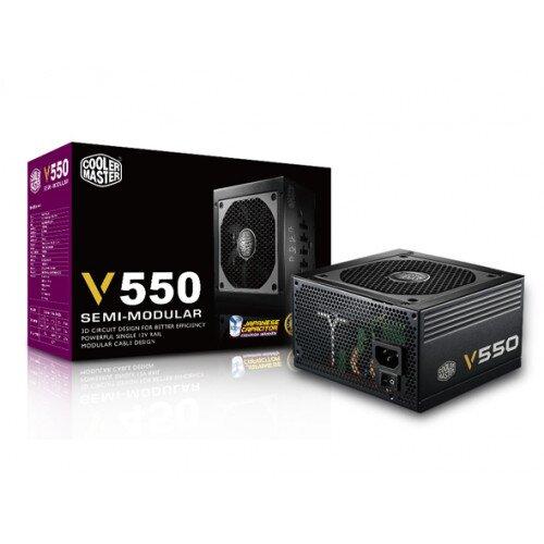 Cooler Master V550 Semi-Modular Power Supply - 550w