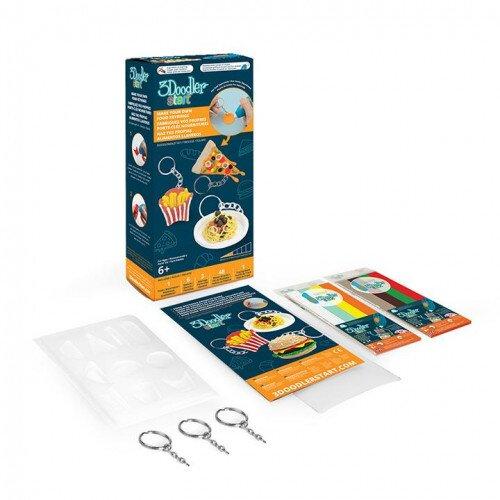 3Doodler Start Make Your Own Food Keyrings DoodleMold Kit