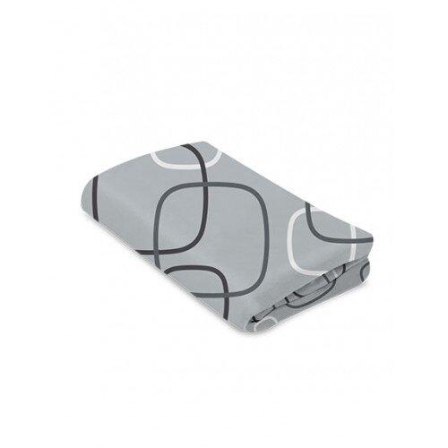 4moms Breeze Classic Waterproof Bassinet Sheet - Silver