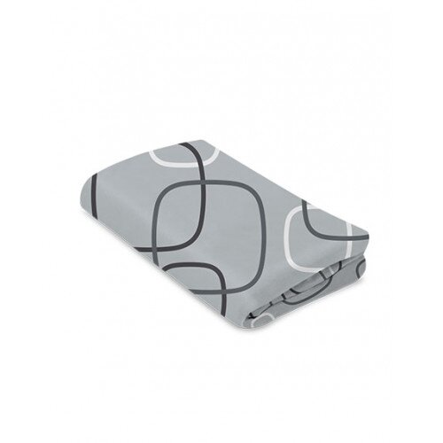 4moms Breeze Classic Waterproof Playard Sheet - Silver