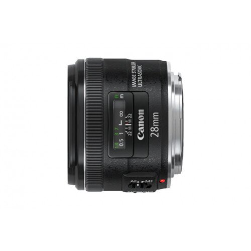 Canon EF 28mm Wide-Angle Lens - f/2.8 IS USM