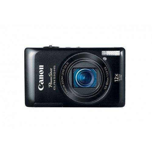 Canon PowerShot ELPH 510 HS Digital Camera - Black