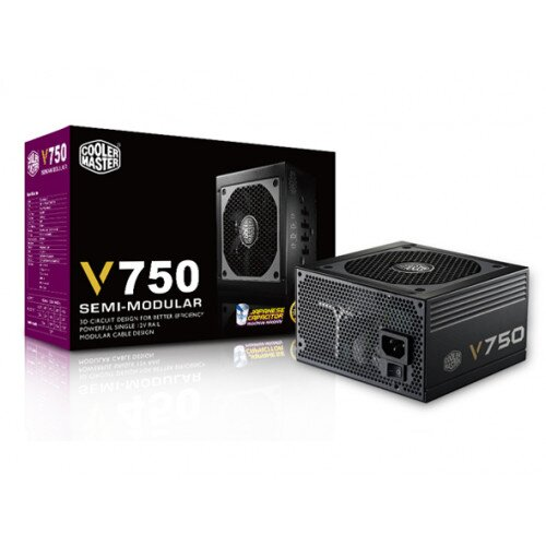 Cooler Master V750 Semi-Modular Power Supply - 750w