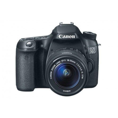 Canon EOS 70D Digital SLR Camera - EF-S 18-55mm IS STM Kit