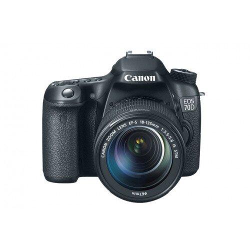 Canon EOS 70D Digital SLR Camera - EF-S 18-135mm IS STM Kit