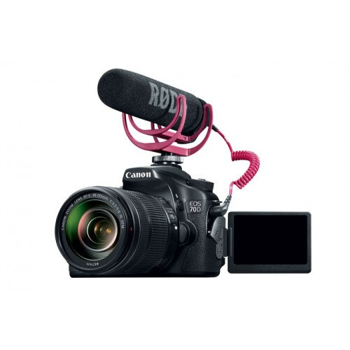 Canon EOS 70D Video Creator Kit with EF-S 18-135mm IS STM Lens Digital SLR Cameras