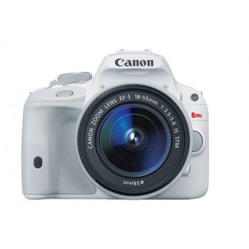 Canon EOS Rebel SL1 Digital SLR Camera - EF-S 18-55mm IS STM Kit - White