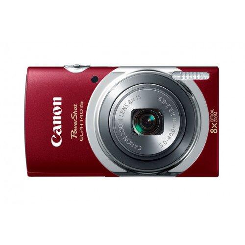Canon PowerShot ELPH 140 IS Digital Camera - Red