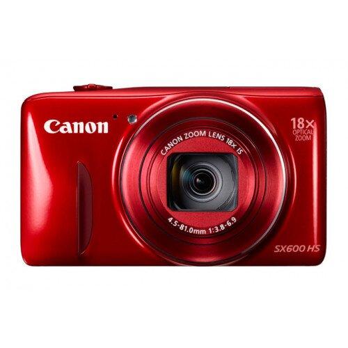 Canon PowerShot SX600 HS Digital Camera - Red