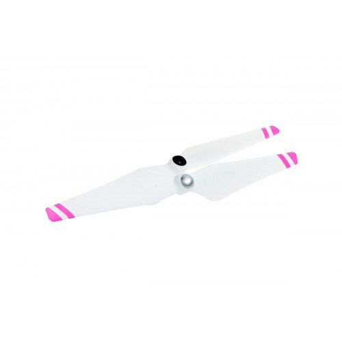 DJI 9450 Self-Tightening Propellers Composite Hub - White with Pink Stripes