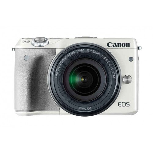 Canon EOS M3 EF-M 18-55mm IS STM Kit - White