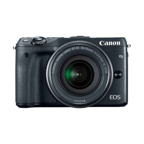 Canon EOS M3 EF-M 18-55mm IS STM Kit - Black