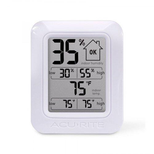 AcuRite Digital Indoor Temperature and Humidity Monitor