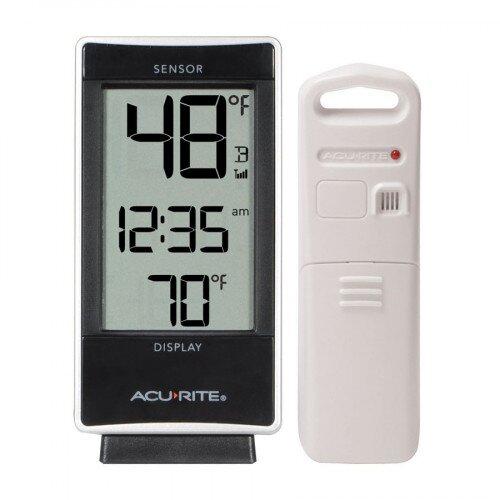 AcuRite Digital Thermometer with Indoor / Outdoor Temperature