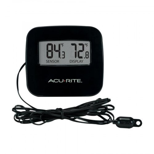 AcuRite Indoor/Outdoor Thermometer with Wired Sensor