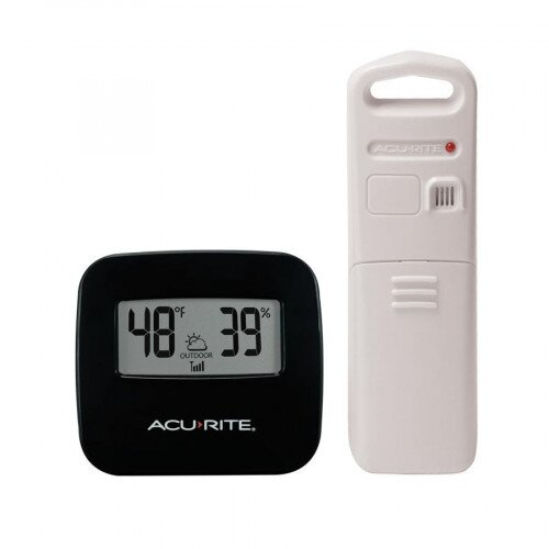 AcuRite Wireless Thermometer with Outdoor Temperature and Humidity Sensor