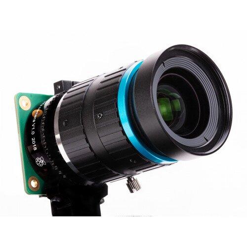 Adafruit 16mm 10MP Telephoto Lens for Raspberry Pi HQ Camera