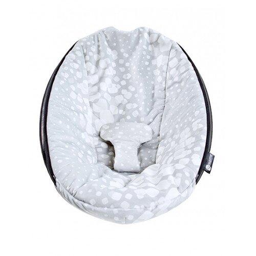 4moms Extra rockaRoo Seat Fabric - Silver Plush