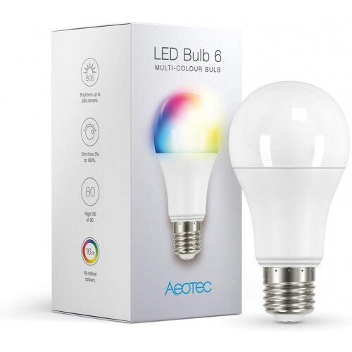 Aeotec Z-Wave LED Bulb - Multi-Colour