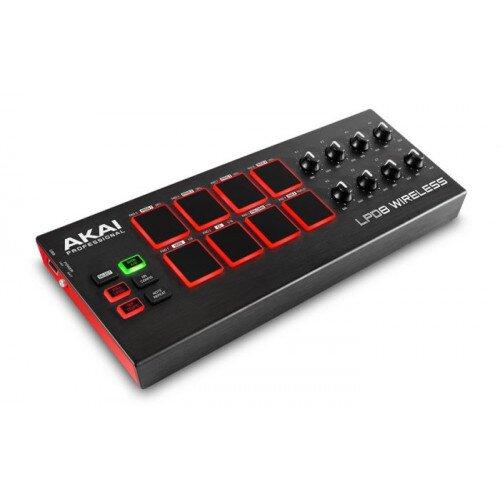 Akai Professional LPD8 Wireless Battery Operated Bluetooth MIDI Pad Controller