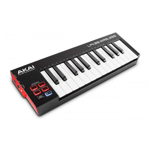 Akai Professional LPK25 Wireless Battery-Operated Bluetooth MIDI Keyboard Controller