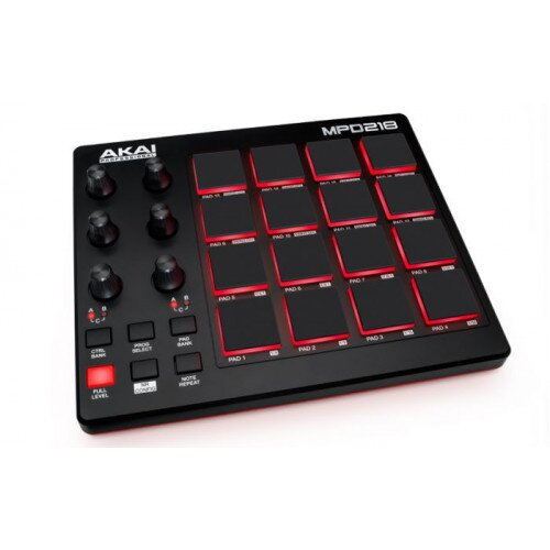 Akai Professional MPD218 Feature-Packed, Highly Playable Pad Controller